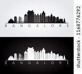 bangalore skyline and landmarks ... | Shutterstock .eps vector #1168776292