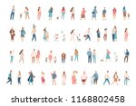 flat people big vector set... | Shutterstock .eps vector #1168802458