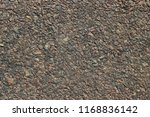 the texture is asphalted road | Shutterstock . vector #1168836142
