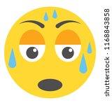 emoji flat design for... | Shutterstock .eps vector #1168843858