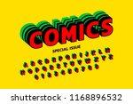 comics style font design ... | Shutterstock .eps vector #1168896532