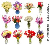 collection of beautiful... | Shutterstock . vector #1168908022