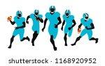 avatars set american football...   Shutterstock .eps vector #1168920952