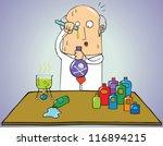 dangerous formula | Shutterstock .eps vector #116894215