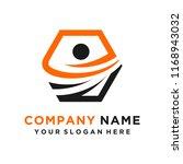 faster logo template vector | Shutterstock .eps vector #1168943032