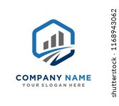 faster logo template vector | Shutterstock .eps vector #1168943062