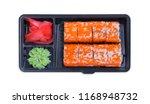 set of california rolls in a...   Shutterstock . vector #1168948732