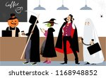 diverse group of people in... | Shutterstock .eps vector #1168948852