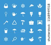 handle icon. collection of 25... | Shutterstock .eps vector #1168949518