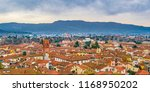 aerial view of historic center... | Shutterstock . vector #1168950202