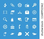 single icon. collection of 25... | Shutterstock .eps vector #1168952362