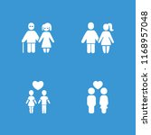 relationship icon. collection...   Shutterstock .eps vector #1168957048