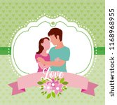 couple and love | Shutterstock .eps vector #1168968955