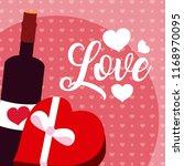 cute love cartoons   Shutterstock .eps vector #1168970095