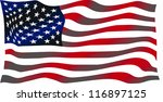 american flag | Shutterstock . vector #116897125