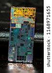 semiconductor internal complex... | Shutterstock . vector #1168971655