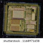 logic integrated circuit... | Shutterstock . vector #1168971658