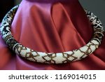 close up of bead rope  seed... | Shutterstock . vector #1169014015