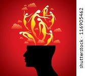 girls in mind | Shutterstock .eps vector #116905462