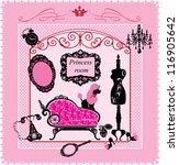 Princess Room   Illustration...