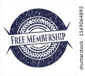 blue free membership distress... | Shutterstock .eps vector #1169064892
