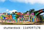 malang  indonesia   july 12 ... | Shutterstock . vector #1169097178