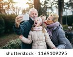 Grandparents Taking Selfie...