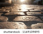 road from paving stones in the ... | Shutterstock . vector #1169109895