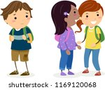 illustration of stickman kids... | Shutterstock .eps vector #1169120068