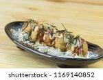 takoyaki  japanese food  | Shutterstock . vector #1169140852