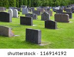 churchyard in aland  ecker      ... | Shutterstock . vector #116914192