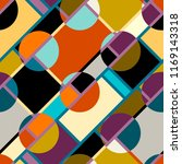 seamless geometric pattern.... | Shutterstock .eps vector #1169143318