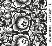 old russian pattern. use as... | Shutterstock .eps vector #1169169445