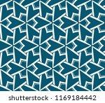 modern seamless geometric... | Shutterstock .eps vector #1169184442