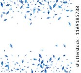 confetti of two colored rhombs... | Shutterstock .eps vector #1169185738