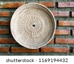 basket and tray made from dried ...   Shutterstock . vector #1169194432