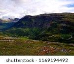 beautiful mountain view photo ... | Shutterstock . vector #1169194492