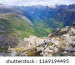 beautiful mountain view photo ... | Shutterstock . vector #1169194495