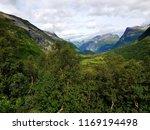 beautiful mountain view photo ... | Shutterstock . vector #1169194498