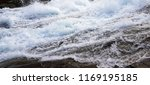 waterfall closeup photo | Shutterstock . vector #1169195185
