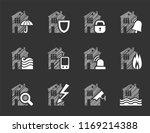 insurance of residential and... | Shutterstock .eps vector #1169214388