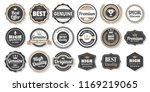 vintage retro vector logo for... | Shutterstock .eps vector #1169219065