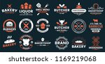 vintage retro vector logo for... | Shutterstock .eps vector #1169219068