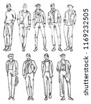 fashion man. set of fashionable ... | Shutterstock . vector #1169232505