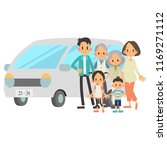 three generational households   ... | Shutterstock .eps vector #1169271112