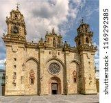 main facade of the historic... | Shutterstock . vector #1169292385
