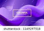 modern colorful liquid shape.... | Shutterstock .eps vector #1169297518