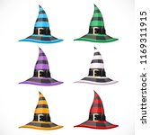set of different colors striped ... | Shutterstock .eps vector #1169311915