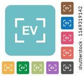 camera exposure value setting... | Shutterstock .eps vector #1169319142