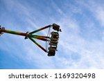 fun in on the amusement park | Shutterstock . vector #1169320498